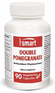 Supersmart – Phytonutriments – Double pomegranate – Contenance: 90 Gél. Vég.