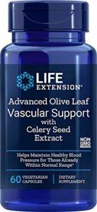 Support avancé Olive Leaf vasculaire avec de lextrait de graines de céleri – Life Extension
