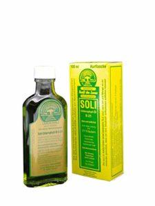 Texte sOLI chlorophylle huile 21 s – 100 ml