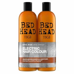 Tigi Bed Head Electric Hair Colour Goddess Oil Infused Kit Shampooing + Conditionneur 1500 ml