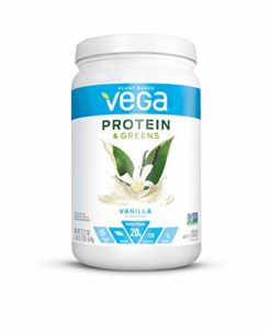 Vega Protein and Greens MD Powder, Vanilla, 21.7 Ounce by Vega – HPC
