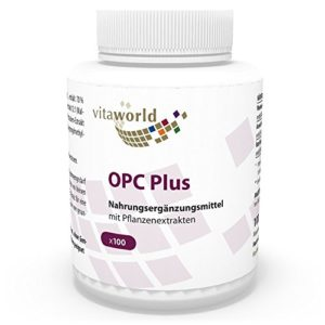 Vita World OPC Plus 200mg 100 Capsules Made in Germany
