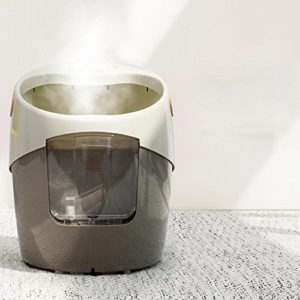 WFL Fumigation Instrument Pied fumé Automatique Bain de Pieds Baril Massage Chauffée Bain de Pieds Bassin Bain de Pieds,A,Cm