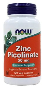 ZINC PICOLINATE 50MG 120 CAPS