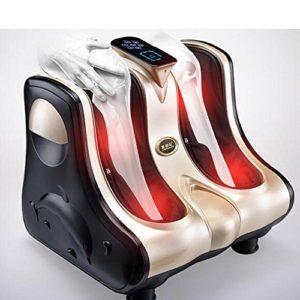 ZULIAOYI Jambes Pieds Cheville Masseur de Pieds électrique Tous Les Massages Chauffants enveloppés