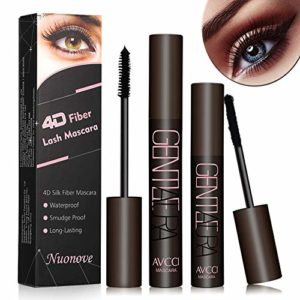 4D Silk Fiber Eyelash Mascara, 4D Fibre Soie Mascara, 4D Mascara Fiber Eyelash Mascara, Fiber De Soie Cils Noir Mascara, Extension Fibre Extrêmement Long Mascara Lavable à L'eau Chaude