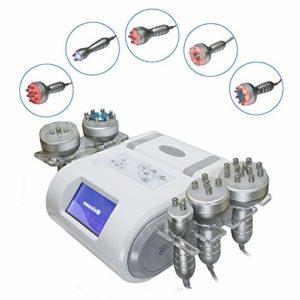5 en 1 Machine de beauté 40K Pression négative Machine de liposuccion Body Shaper Perte de Poids Soin de la Peau pour Le Visage et Le Corps