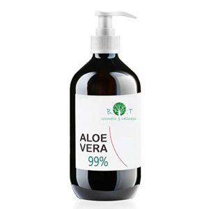 Aloe Vera Gel 99% Pure Fresh Aloe Vera Gel 500 ml
