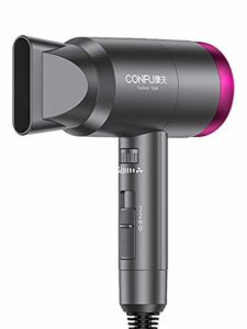 ASDQ Sèche-Cheveux Hair Dryer Household Barbershop Does Not Injure Mute High-Power Negative ION Cold and Hot Air