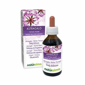 Astragale (Astragalus membranaceus) TEINTURE MÈRE SANS ALCOOL GOUTTES EXTRAIT BIOALMA 60 ml