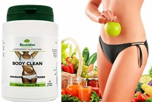BODY CLEAN 120 Gélules – Cure détox foie,nettoyage des intestins – 6 Plantes nettoyantes du système digestif – Recommandé contre les excès alimentaires et d' alcool. Exceldiet, la marque Verte.