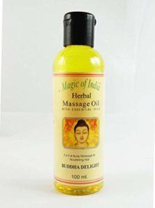 Bouddha Delight magie de l'Inde Herbal massage huile essentielle pour 100 ml Full Body