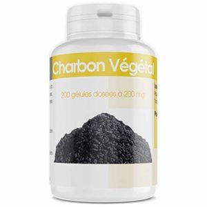 Charbon Végétal Activé – 200 mg – 200 gélules