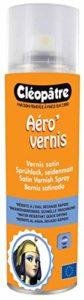 Cléopâtre – AVS250 – Aéro'Vernis – Aérosol de Vernis Satin Transparent – 250 ml