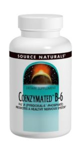 Coenzyme de vitamine B6 – P-5-P (pyridoxal-5-phosphate) – 25 mg
