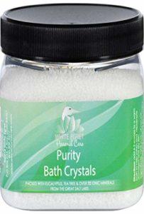 Cristaux de bain de pureté, 16 oz – White Egret Soins personnels