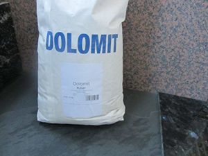 Dolomit 90μm 25KG Dolomitmehl Poudre Calcium magnésium Carbonate CaMg (CO3) 2
