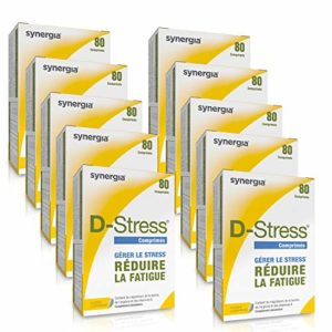 D-Stress ➠ Magnésium hautement assimilé, taurine, arginine et vitamines B ➠ Origine France ➠ Lot de 10