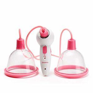 Électrique Masseur de poitrine, Masseur électrique de sein, masseur de coffre empêchent l'augmentation de massage debout d'affaissement du sein (taille : M)