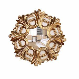 ERM Rétro Miroir Salle De Bain/Créatif/Salon/Miroir De Maquillage/Métal/Miroir De Dressing/Processus/Miroir De Maquillage De Chambre