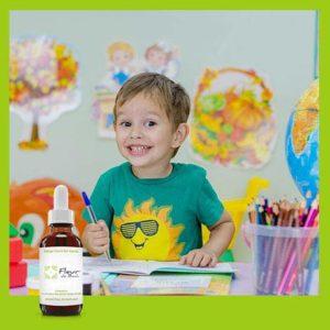 Fleur de Bach Enfants agités Sans Alcool- Ce mélange est efficace et utile pour calmer les agitations excessives de l'enfant, calmer l'irritabilité, et lui permettre de se Concentrer FL de 30 ML