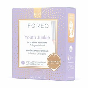 FOREO Youth Junkie Masque Actif UFO Pack de 6