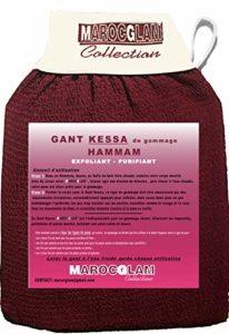 Gant de Gommage corps et visage, GANT EXFOLIANT kessa HAMMAM BY MAROC GLAM