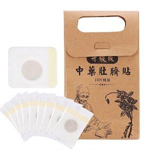 GLOGLOW 10 Pcs/Boîte Wonder Minceur Patches Navel Bâton Poids Perdre Fat Brûleur Patch Pad Feuille Adhésif Soins de Santé Minceur Accessoire