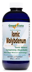 Good State Molybdène Ionique Liquide (96 Doses De 75µg, Plus 2Mg D'Acide Fulvique) (236Ml)