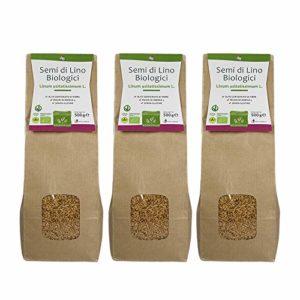 Graines de Lin Biologique – Multipack 500 g x 3