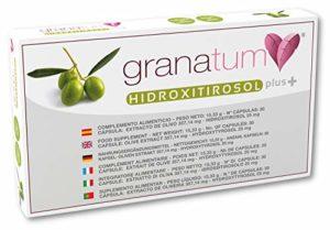 Granatum Plus – Capsules d'extrait d'olive Hydroxytyrosol Plus – 6 X 30 Gélules