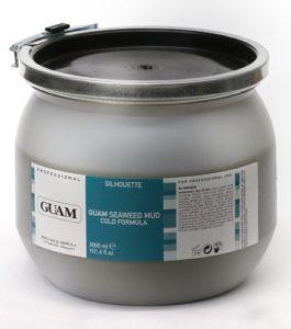 Guam algues Fango kühlende Formule 4kg boîte pour balai reisern et troubles veineux pour une saine, Belle et une peau