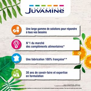 Juvamine BRULE GRAISSE – THE VERT GUARANA 1600mg, MAXI FORMAT 120 gélules