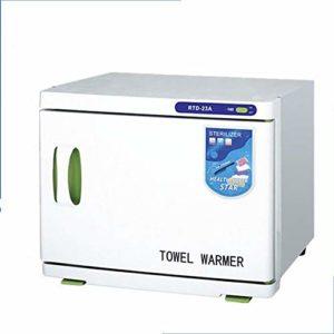 JYZ Cabinet Chaud de réchauffeur de Serviette de capacité élevée, stérilisateur UV 2 dans 1 équipement Facial de Station Thermale et de Salon