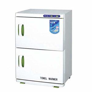 JYZ Cabinet de réchauffeur de Serviette de capacité élevée, Cabinet UV de désinfection Parfait pour l'équipement de Salon de beauté de Cheveux de Station Thermale de Peau de Peau