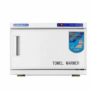 JYZ Cabinet Professionnel de réchauffeur de Serviette, stérilisateur UV 2 dans 1 Utilisation pour Le Salon de beauté de Cheveux de Spa et la capacité élevée 16L