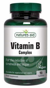 La vitamine B complexe aide Natures 90 Comprimés