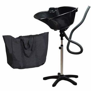 Lave tete coiffure noir avec sac