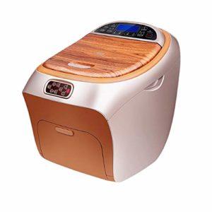 L-health Appareil Massage Pied Bain de Pieds entièrement Automatique, Massage Multi-Fonctions, Baignoire thermostatique