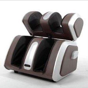 L-health Appareil Massage Pied Massage de Jambe de Massage Multifonctionnel électrique des Pieds Shiatsu Blood (Brun)