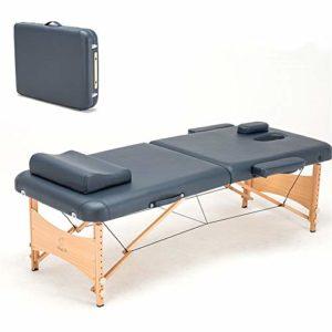 Massage Portable Relaxation Portable Relaxant bodytable Berceau Visage Spa Tatouage Pliant Meubles de Salon en Bois