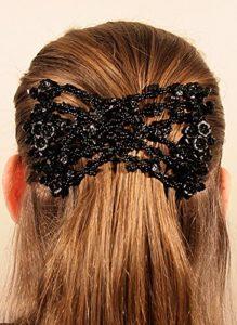 MeBella Femme Magic Pinces à cheveux extensible EZ double Peigne différents Styles de cheveux (offre vente £ 4,98)