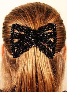 MeBella Pinces à cheveux extensible Peigne double pour différentes coiffures