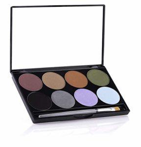 Mehron Earth Palette de poudre pressée INtense Pro (8 couleurs)