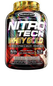 Muscletech FID45622 Performance Series Nitro Tech 100% Whey Gold Cookies And Cream