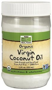 Now Foods Certified Organic Coconut Oil 12 oz by Now Foods