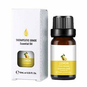 Ofanyia Huile essentielle de citron Hydratant raffermissant pour la peau Soulager la fatigue éclaircissante Huile de massage