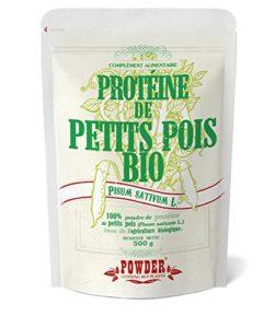 Powder Protéine de Petits Pois en Poudre Nutrition Sportive