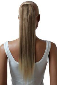 PRETTYSHOP 60cm clip en extensions postiche extension de cheveux lisse résistant à la chaleur variation HC26