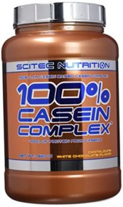 Scitec Nutrition 100% Casein Complex protéine chocolat blanc-melon 920 g